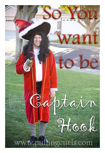 Best ideas about DIY Captain Hook Costume . Save or Pin Make a Captain Hook Costume simple ideas for fast costumes  Now.