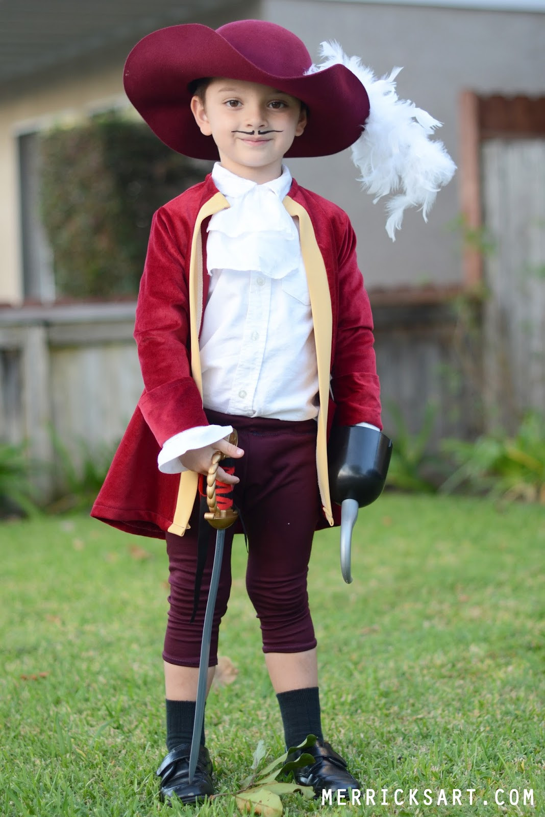 Best ideas about DIY Captain Hook Costume . Save or Pin Merrick s Art Style Sewing for the Everyday Girl Now.
