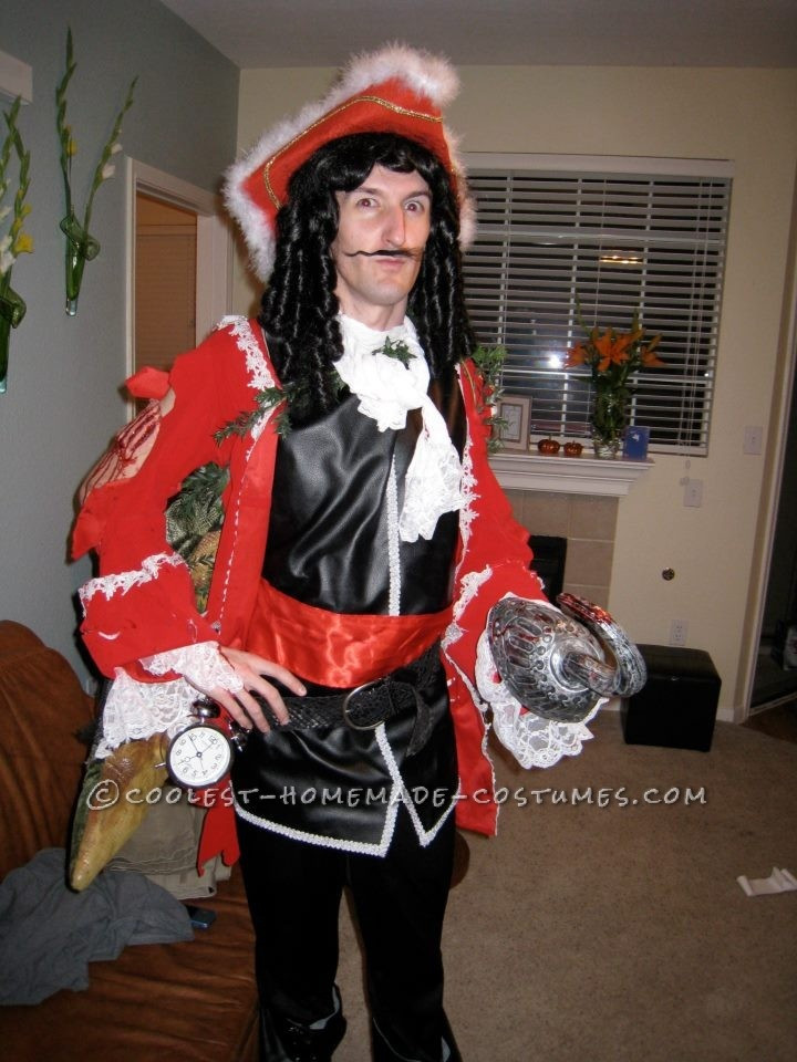 Best ideas about DIY Captain Hook Costume . Save or Pin Original Captain Hook Washed Up Shore Costume Now.