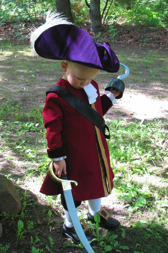 Best ideas about DIY Captain Hook Costume . Save or Pin Child s Captain Hook Costume Custom Made by Now.