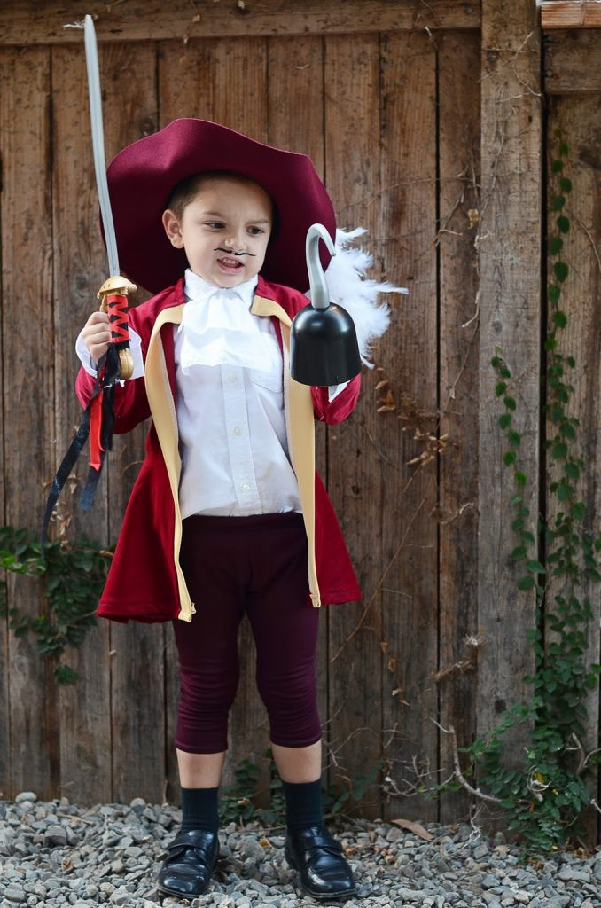 Best ideas about DIY Captain Hook Costume . Save or Pin Merrick s Art Style Sewing for the Everyday Now.