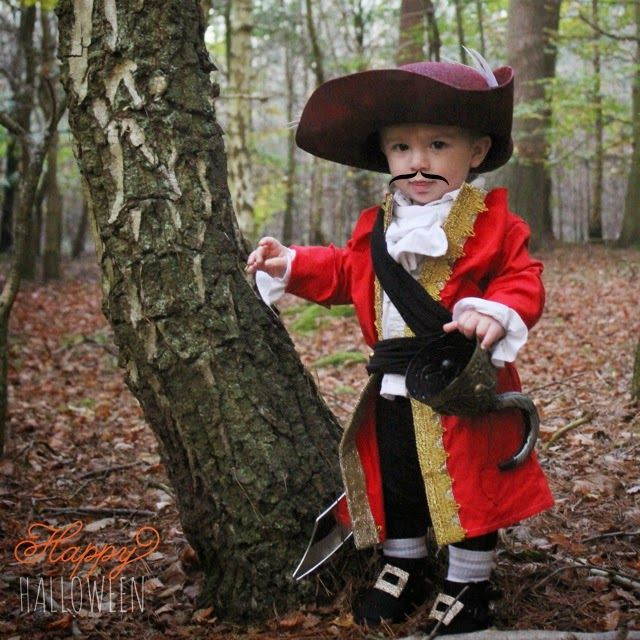Best ideas about DIY Captain Hook Costume . Save or Pin toddler Captain Hook DIY costume Now.