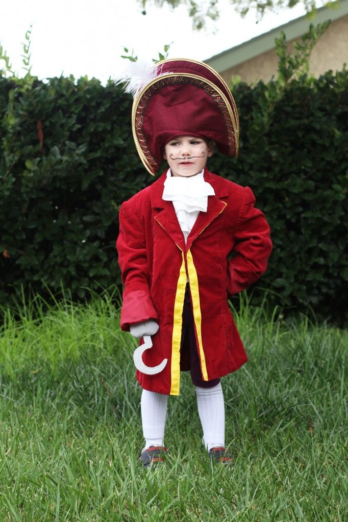 Best ideas about DIY Captain Hook Costume . Save or Pin DIY Captain Hook Costume Mom Crafts Pinterest Now.