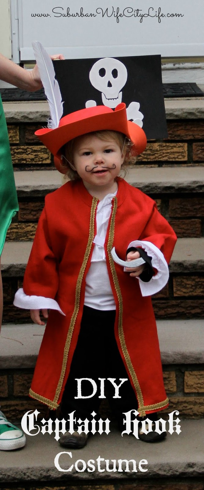 Best ideas about DIY Captain Hook Costume . Save or Pin DIY Halloween Costumes Now.