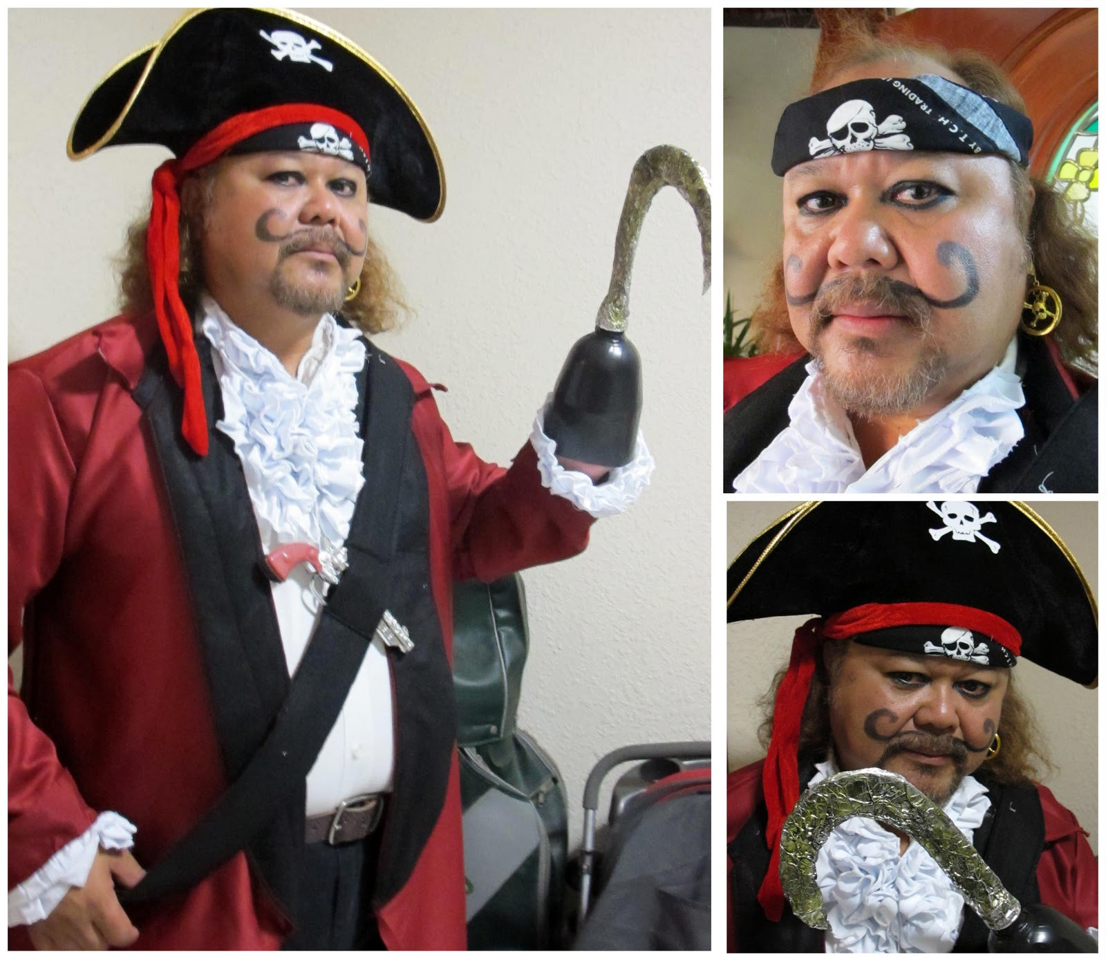 Best ideas about DIY Captain Hook Costume . Save or Pin Rabbit The Penguin DIY Captain Hook Costume Now.