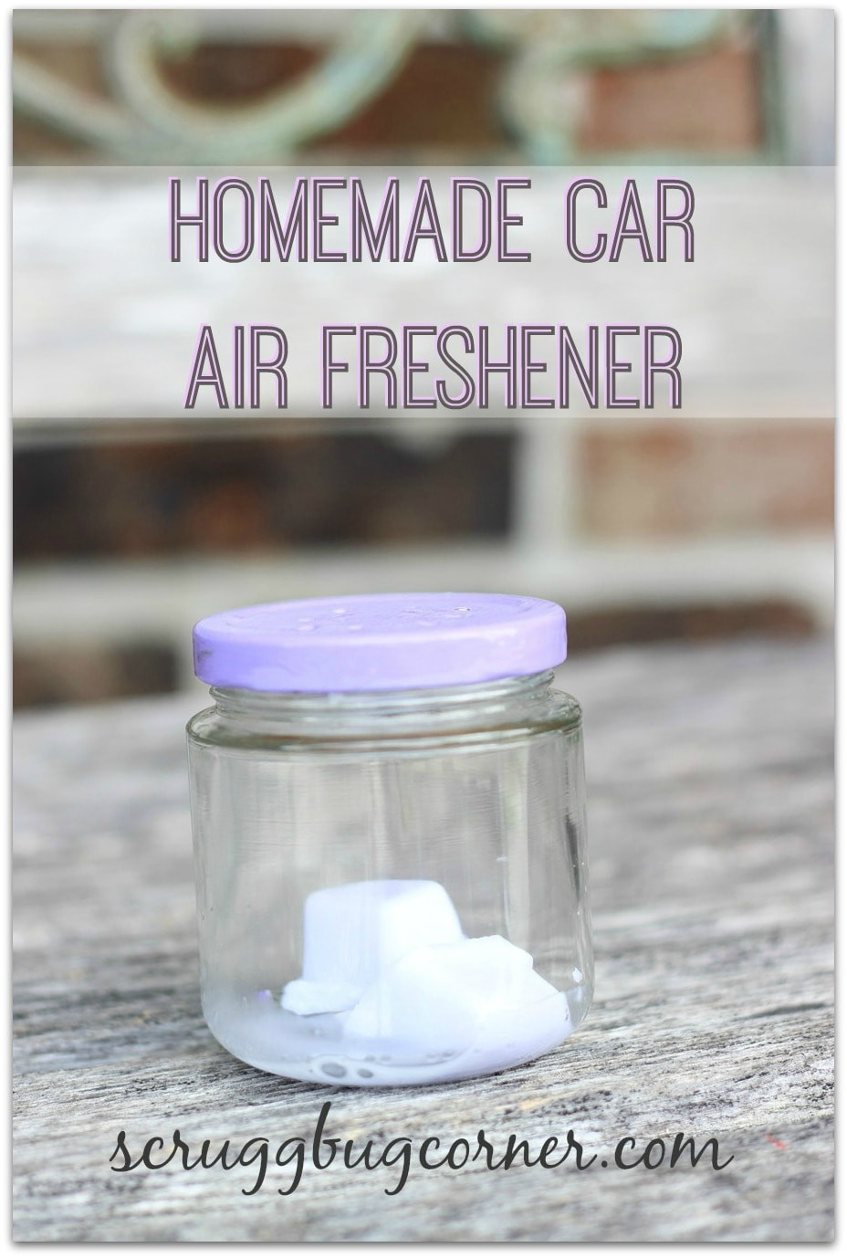Best ideas about DIY Car Air Freshener . Save or Pin How to make wax car air fresheners Gym Craft Laundry Now.