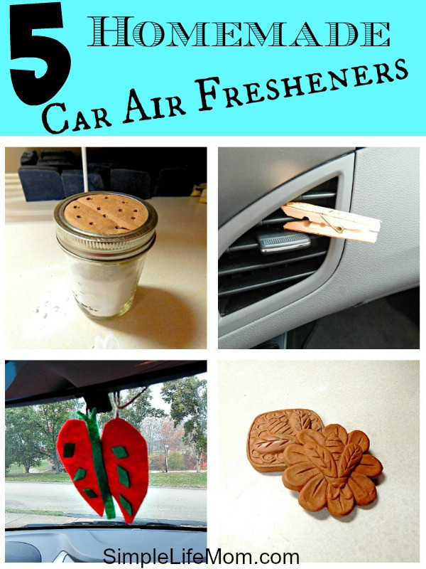 Best ideas about DIY Car Air Freshener . Save or Pin 5 Homemade Car Air Fresheners Simple Life Mom Now.