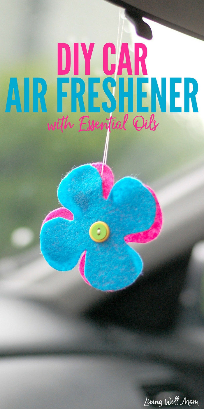 Best ideas about DIY Car Air Freshener . Save or Pin DIY Car Air Freshener with Essential Oils Now.