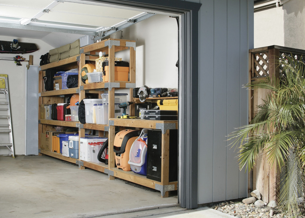 Best ideas about DIY Car Garage . Save or Pin DIY Over Car Garage Shelving DIY Done Right Now.