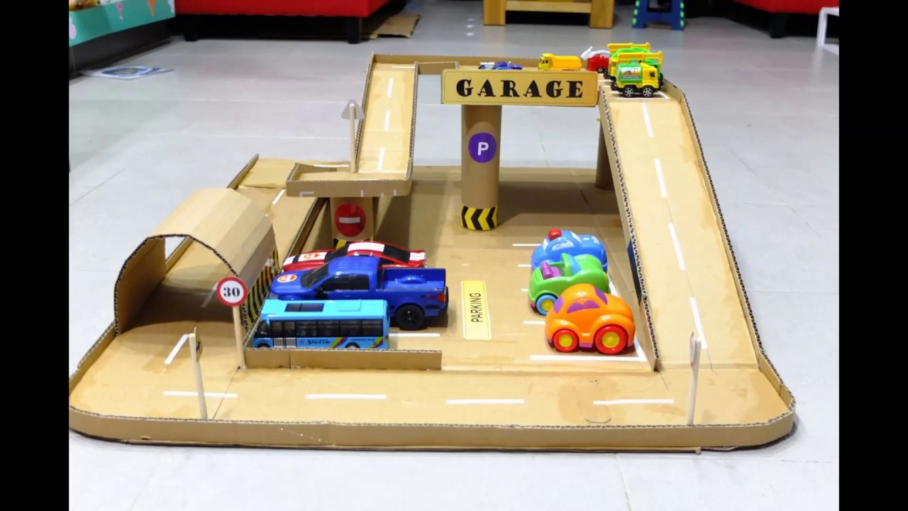 Best ideas about DIY Car Garage . Save or Pin Garage for Kids Car Garage Garage for Childrens Now.