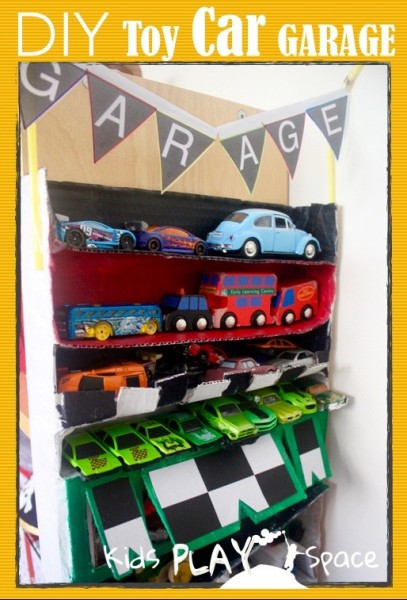 Best ideas about DIY Car Garage . Save or Pin DIY Toy Car Garage Now.