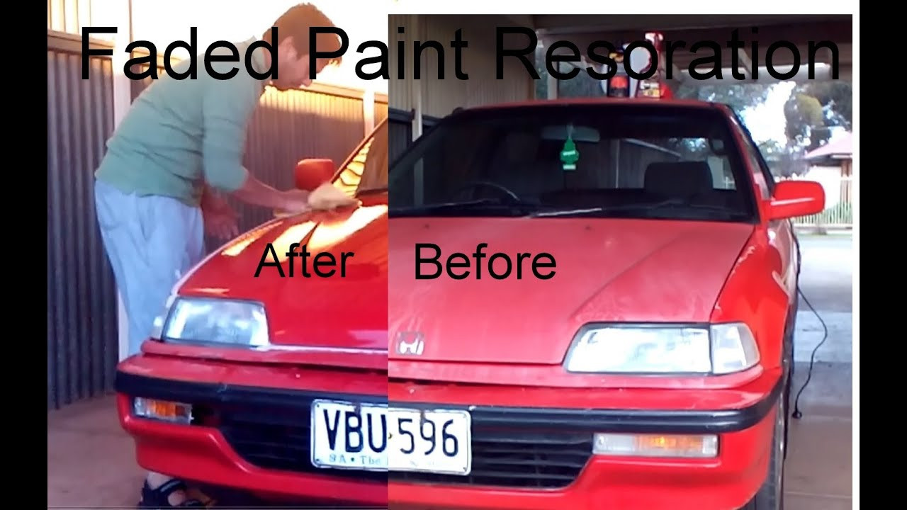 Best ideas about DIY Car Painting . Save or Pin DIY Car Paint Restoration Now.