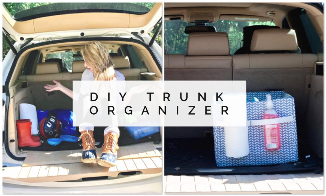 Best ideas about DIY Car Trunk Organizer . Save or Pin Car Hacks Easy DIY Trunk Organizer for Your Hot Mess Express Now.