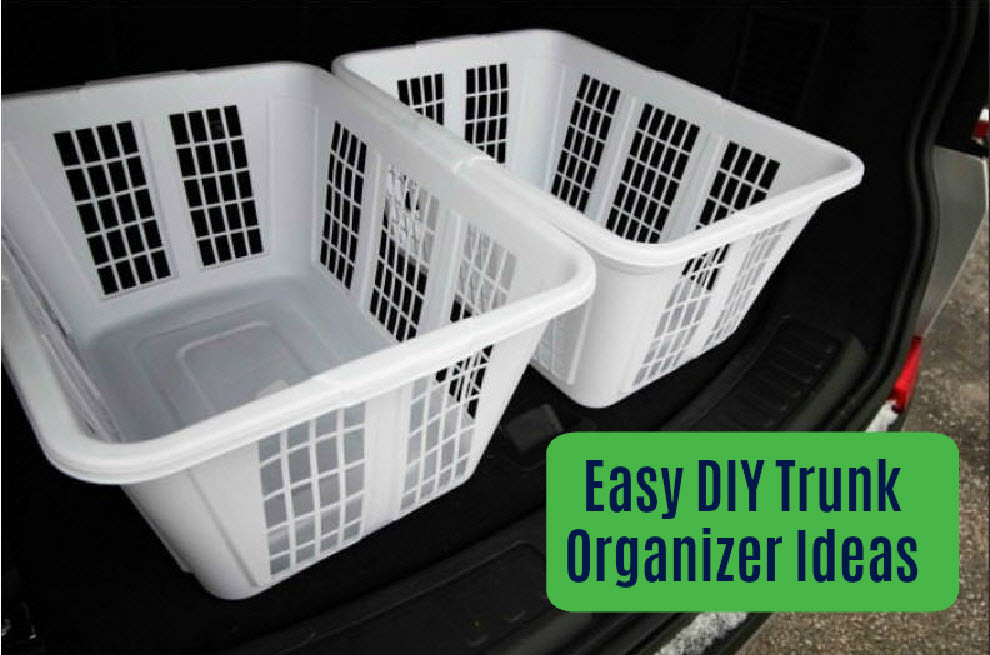 Best ideas about DIY Car Trunk Organizer . Save or Pin DIY Trunk Organizers—How to Make a Custom Trunk Organizer Now.