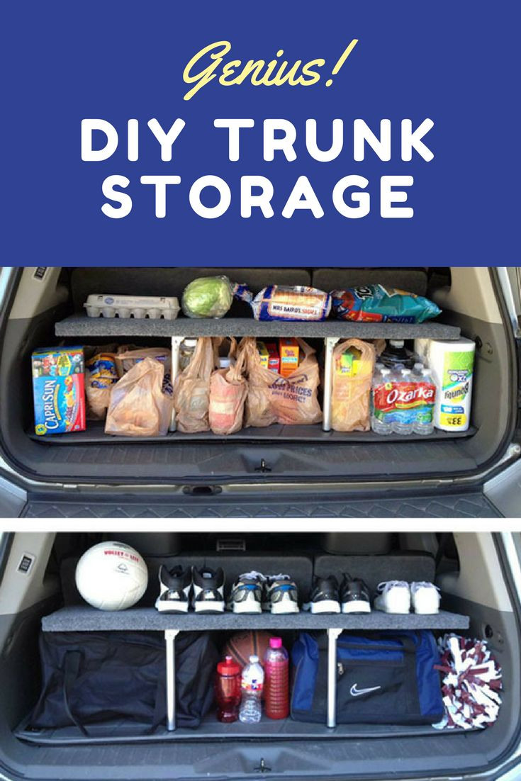Best ideas about DIY Car Trunk Organizer . Save or Pin 431 best DIY Storage Bob Vila s Picks images on Pinterest Now.