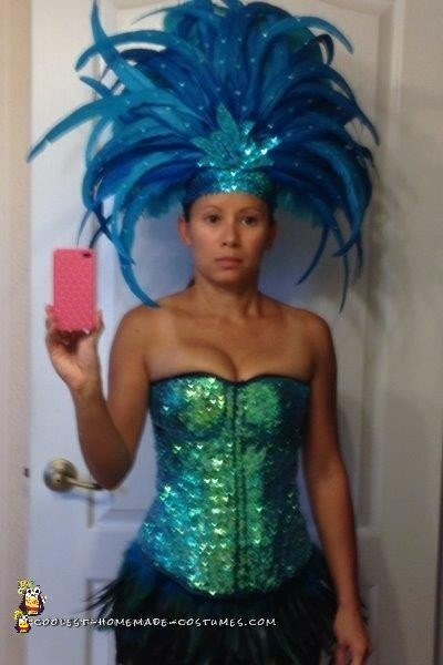 Best ideas about DIY Carnival Costume . Save or Pin Coolest Glittery DIY Samba Carnival Dancer Costume Now.