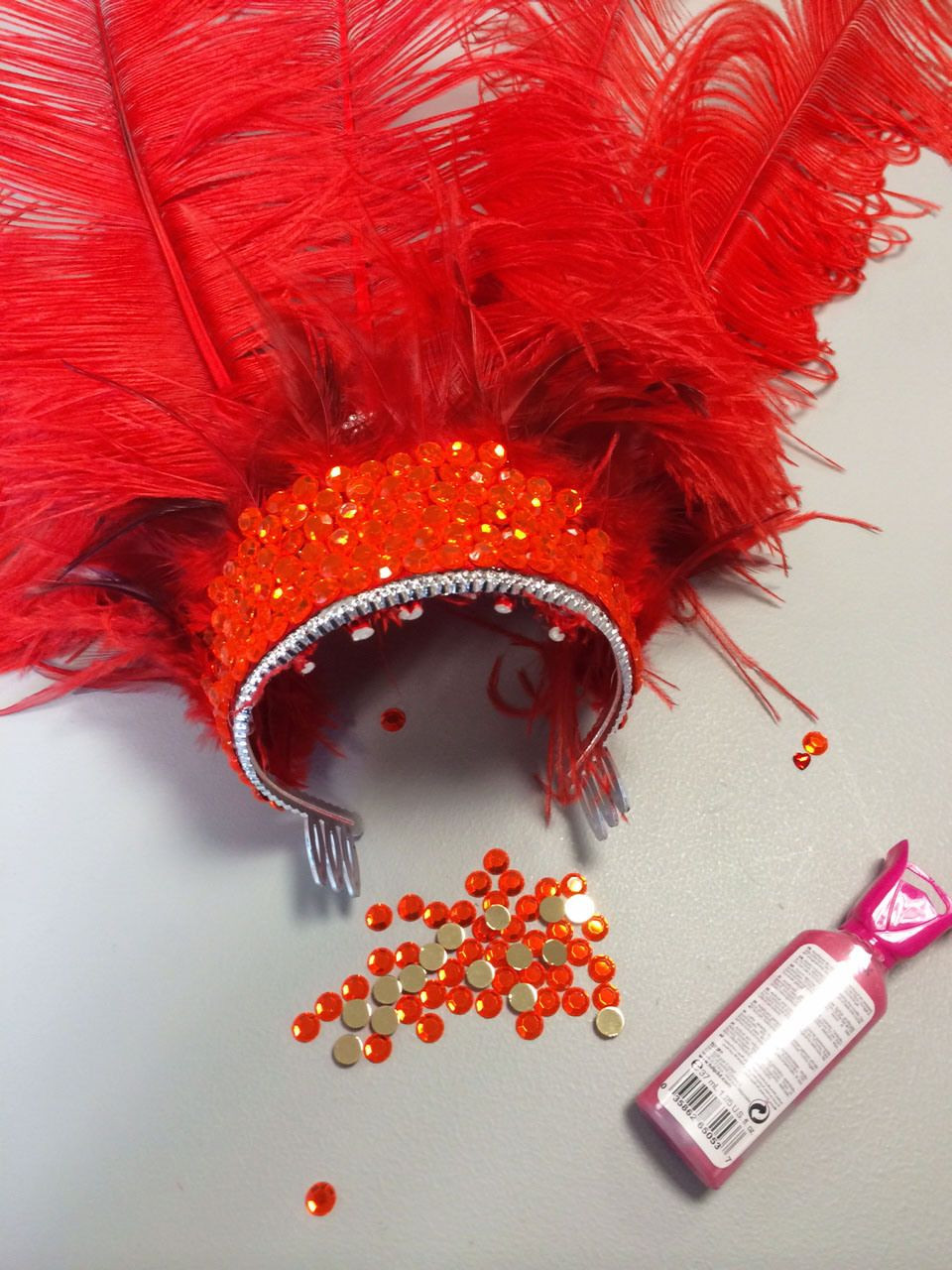 Best ideas about DIY Carnival Costume . Save or Pin Jessica's DIY Feather Headdress Carnival Now.