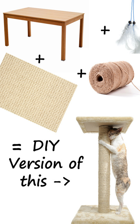 Best ideas about DIY Cat Scratching Post Plans . Save or Pin Free diy cat furniture plans Plans DIY How to Make Now.