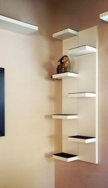 Best ideas about DIY Cat Wall Shelves . Save or Pin Pin by Hauspanther on Cat Shelves Now.