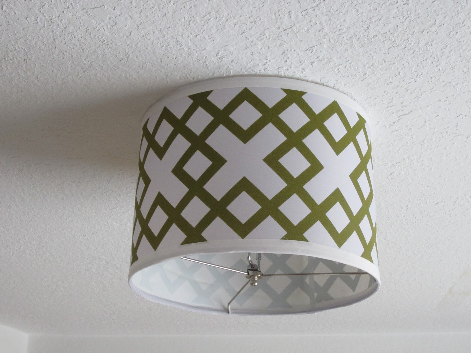 Best ideas about DIY Ceiling Lighting . Save or Pin Blue 11 Interiors DIY Ceiling Light Now.