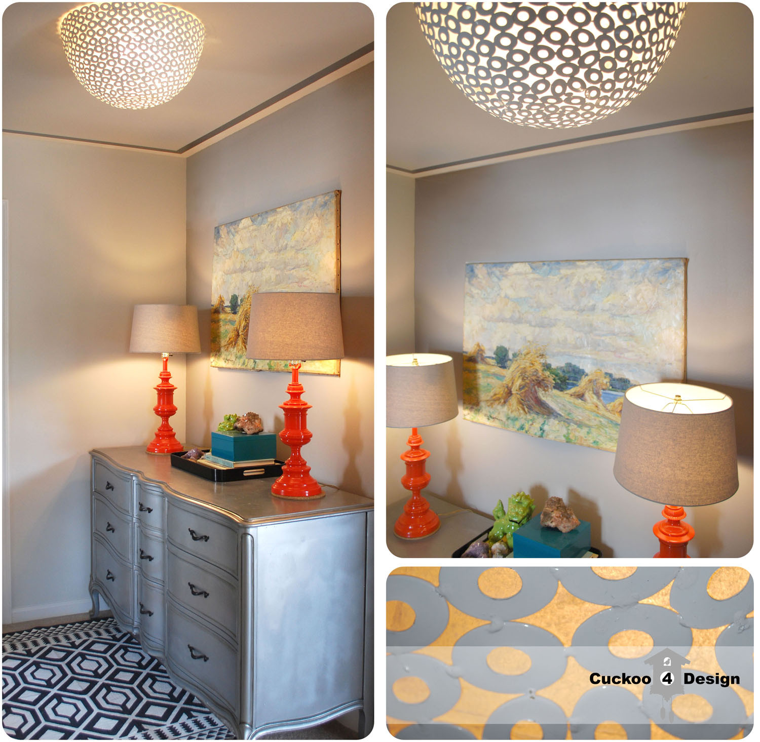 Best ideas about DIY Ceiling Lighting . Save or Pin HomeGoods clearance bowl as DIY ceiling fixture Now.