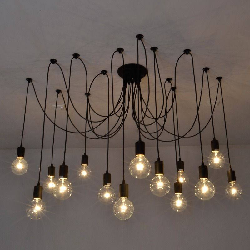 Best ideas about DIY Ceiling Lighting . Save or Pin Vintage Edison Industrial Style Chandelier Pendant Lights Now.