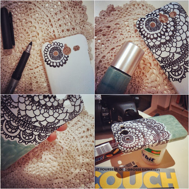 Best ideas about DIY Cell Phone Case . Save or Pin The average mess And yet again another mobile phone case DIY Now.