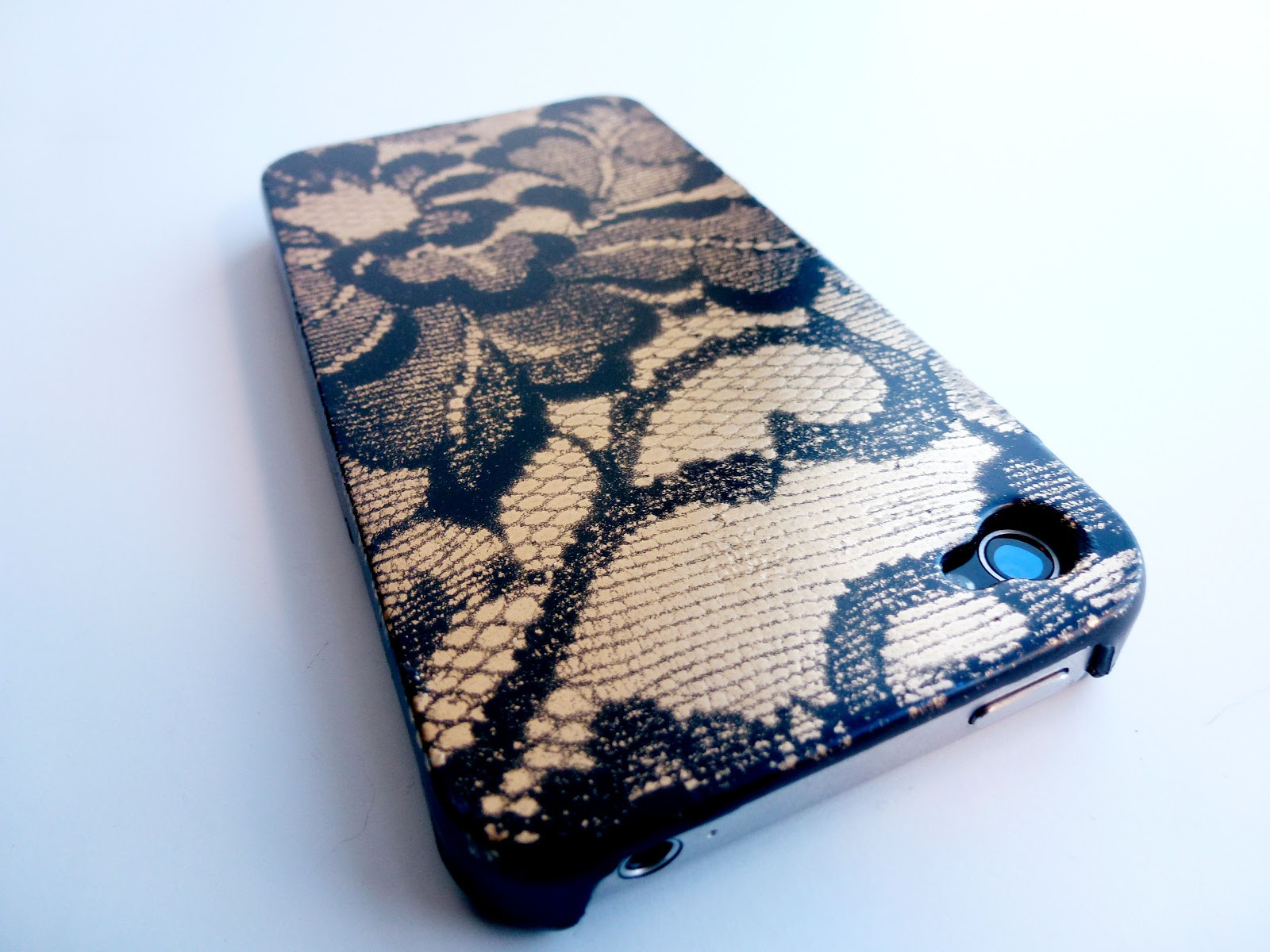 Best ideas about DIY Cell Phone Case . Save or Pin Hey Look what I Made Lace Phone Case Now.