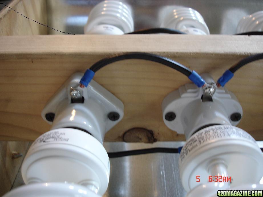 Best ideas about DIY Cfl Grow Light . Save or Pin DIY veg CFL reflector Now.