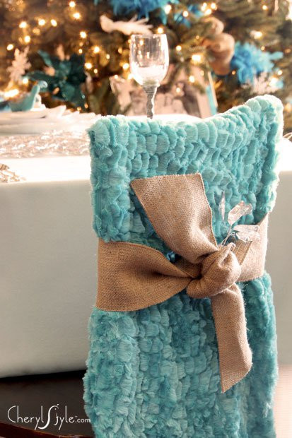 Best ideas about DIY Chair Covers No Sew . Save or Pin No sew DIY chair covers for the dining room living room Now.