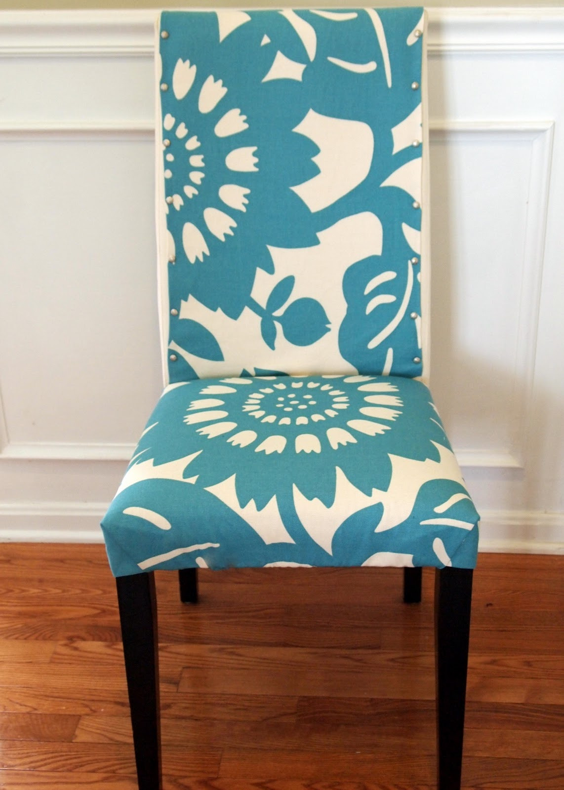 Best ideas about DIY Chair Covers No Sew . Save or Pin LoveYourRoom My Morning Slip Cover Chair Project Using Now.