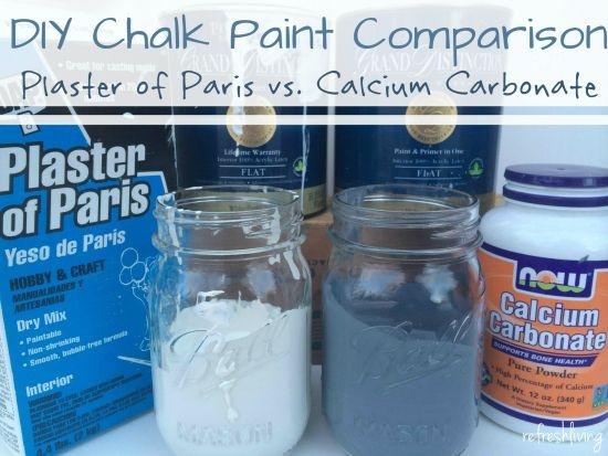 Best ideas about DIY Chalk Paint Plaster Of Paris . Save or Pin The Best DIY Chalk Paint Recipe a parison between Now.