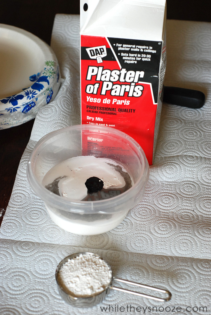 Best ideas about DIY Chalk Paint Plaster Of Paris . Save or Pin While They Snooze How to Make Chalk Paint Now.