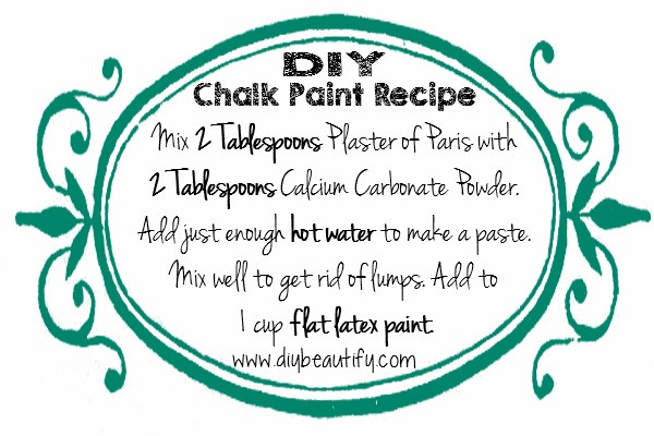 Best ideas about DIY Chalk Paint Recipe . Save or Pin How to Make DIY Chalk Paint Using Store Samples Now.