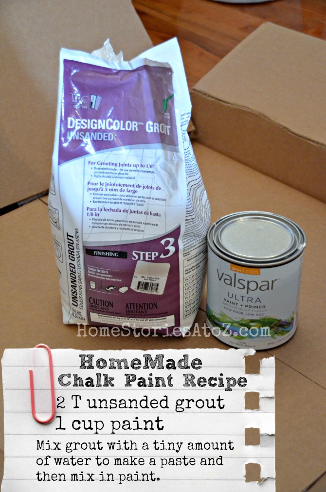 Best ideas about DIY Chalk Paint Recipe . Save or Pin Homemade Chalky Finish Paint Recipe LowesCreator Now.