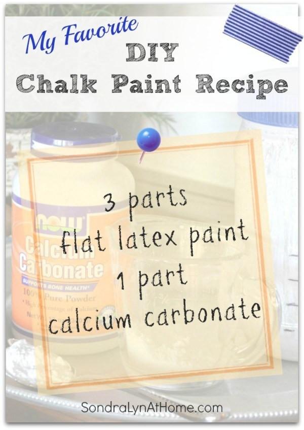 Best ideas about DIY Chalk Paint Recipe . Save or Pin DIY Chalk Paint Recipe Sondra Lyn at Home Now.