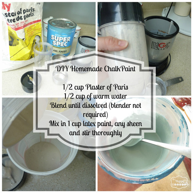 Best ideas about DIY Chalk Paint Recipe . Save or Pin DIY Homemade Chalk based Paint Project thediydreamer Now.