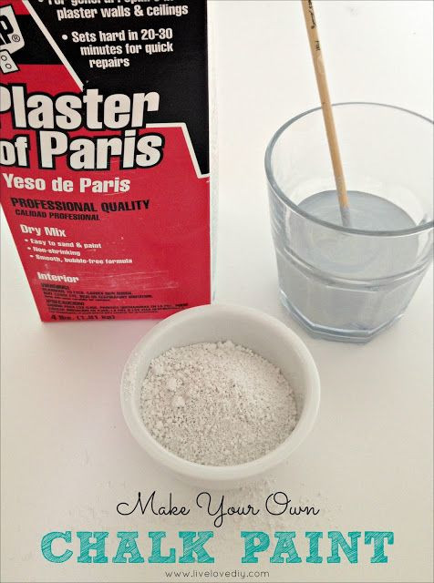 Best ideas about DIY Chalk Paint With Plaster Of Paris . Save or Pin 17 Best images about Plaster of Paris Craft on Pinterest Now.