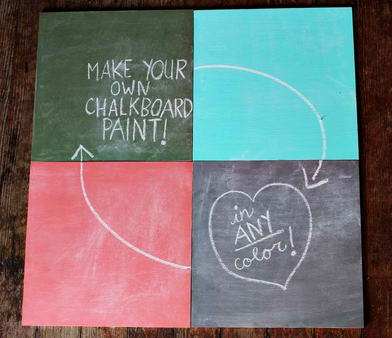 Best ideas about DIY Chalkboard Paint . Save or Pin DIY Chalkboard Paint Tutorial • kitskorner Now.