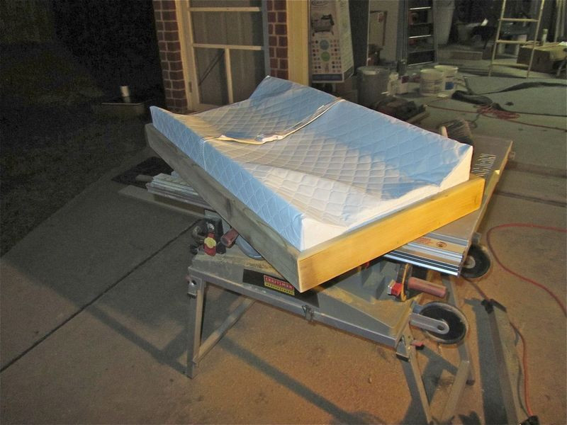 Best ideas about DIY Changing Table Topper . Save or Pin DIY building our own changing table topper for our Now.
