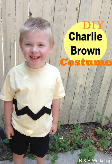 Best ideas about DIY Charlie Brown Costume . Save or Pin Halloween Crafts and Recipes for Kids Now.