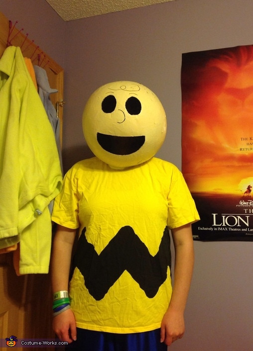 Best ideas about DIY Charlie Brown Costume . Save or Pin Charlie Brown DIY Halloween Costume Now.