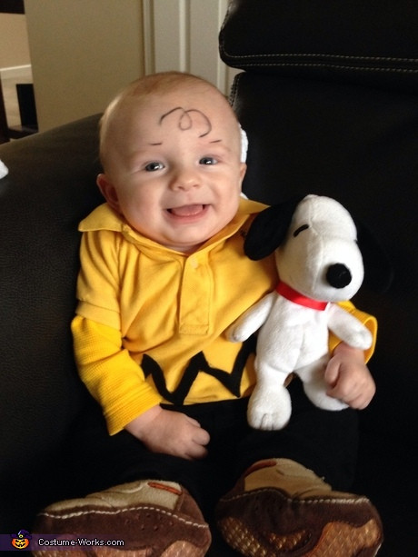 Best ideas about DIY Charlie Brown Costume . Save or Pin 35 Cute Baby Halloween Costume Ideas Now.