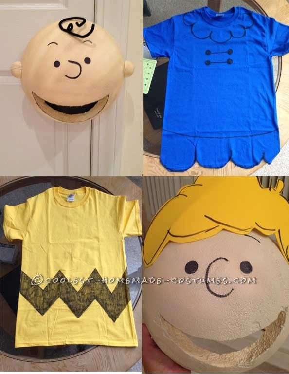 Best ideas about DIY Charlie Brown Costume . Save or Pin Awesome Peanuts Gang Group Costume Now.