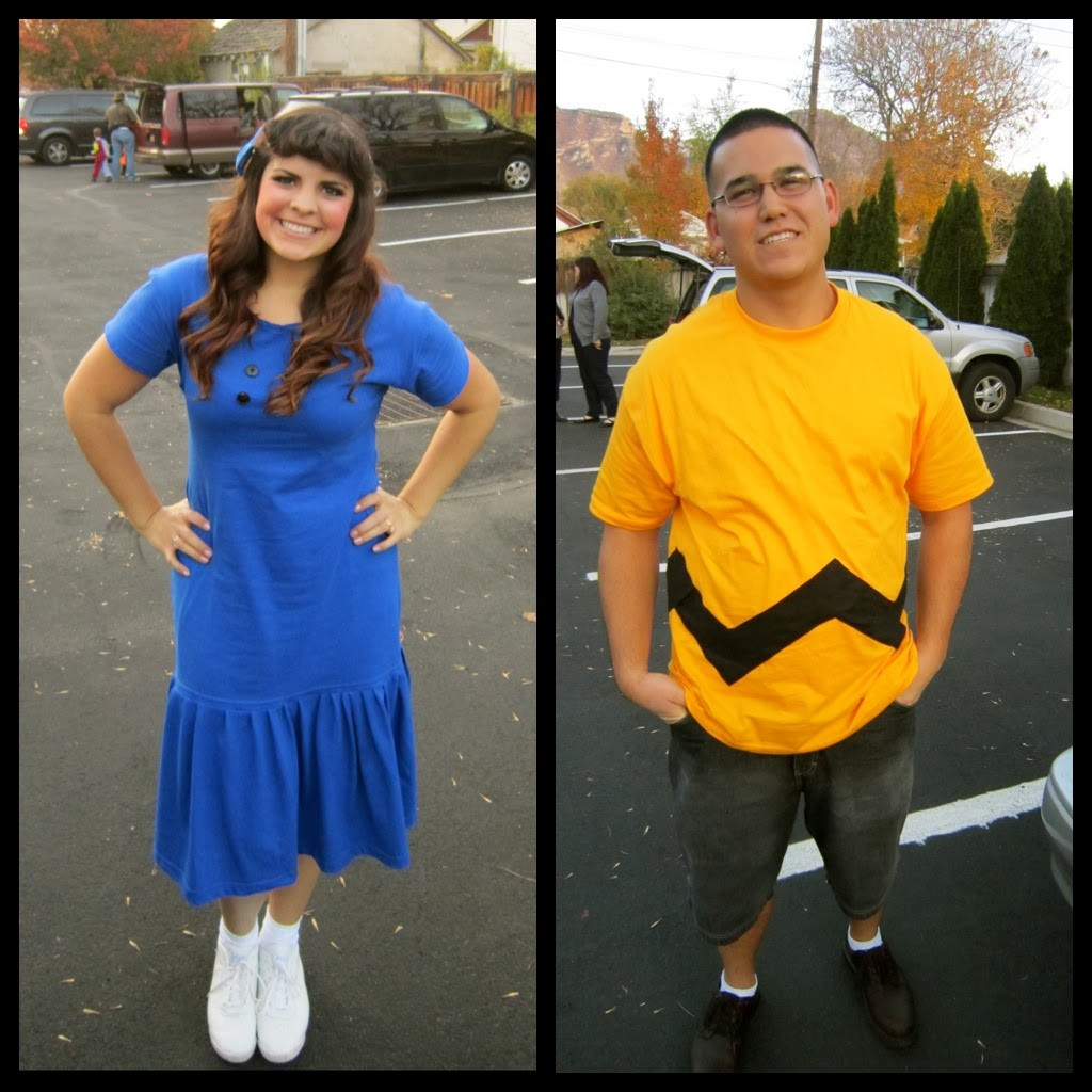 """Best ideas about DIY Charlie Brown Costume . Save or Pin I just like the """"B"""" and that s all Hibbs Halloween 2012 Now."""