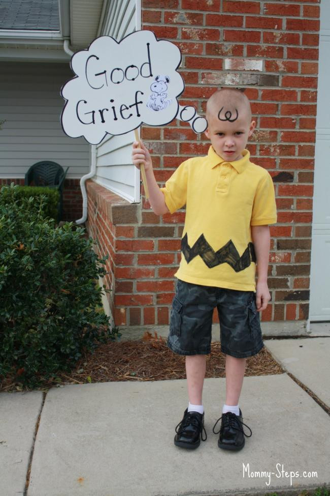 Best ideas about DIY Charlie Brown Costume . Save or Pin 15 DIY Halloween Costumes Perfect for Boys Spaceships Now.