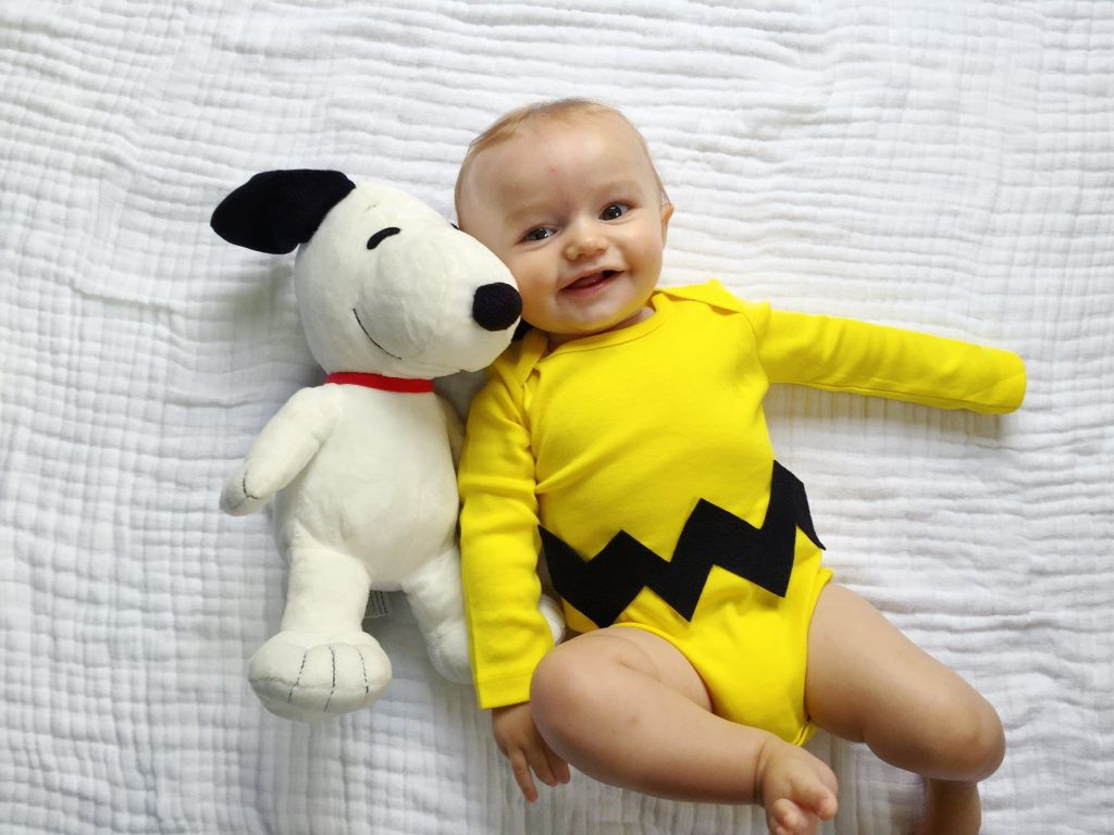Best ideas about DIY Charlie Brown Costume . Save or Pin 5 Easy DIY Halloween Costumes for Baby The Chirping Moms Now.