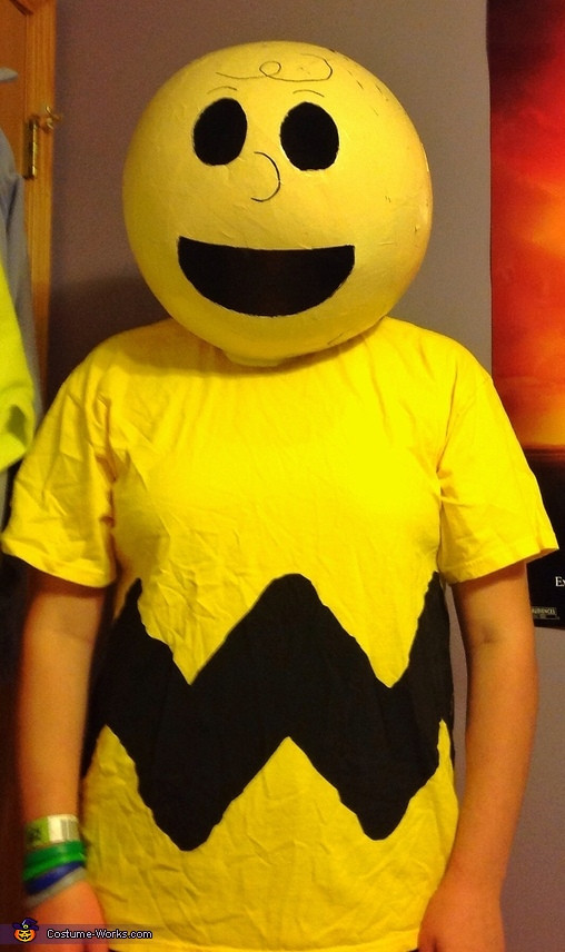 Best ideas about DIY Charlie Brown Costume . Save or Pin Charlie Brown DIY Halloween Costume 2 2 Now.