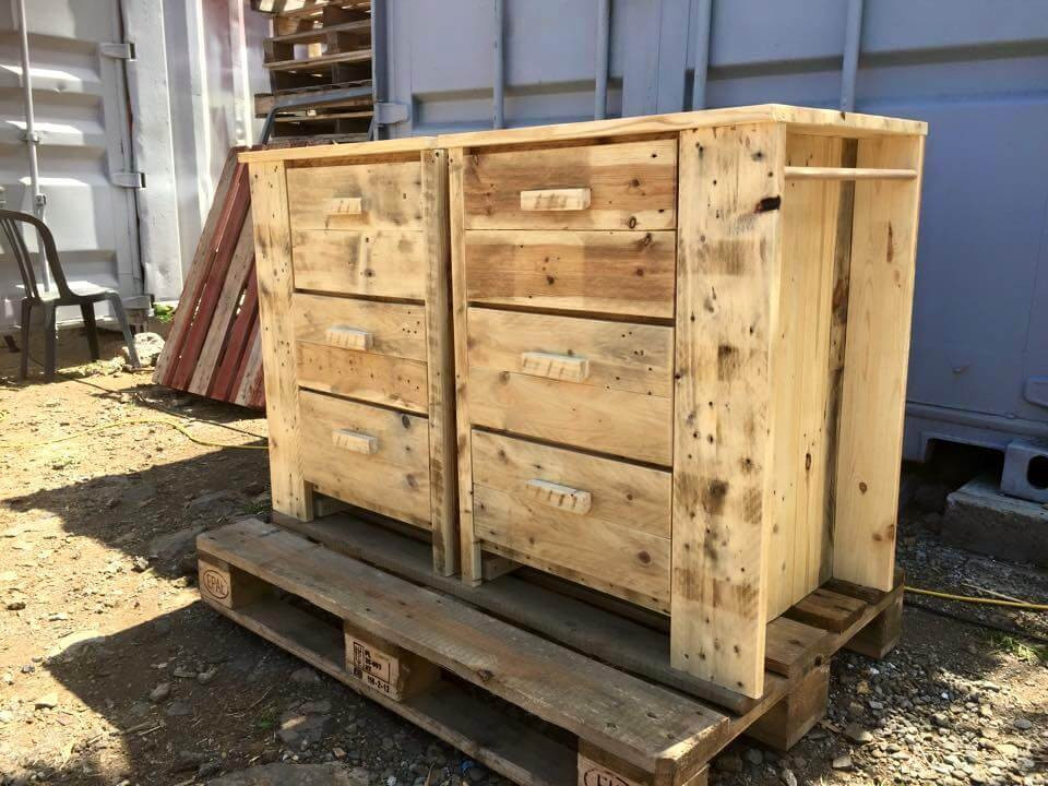 Best ideas about DIY Chest Of Drawers . Save or Pin Multipurpose Pallet Chest of Drawers Now.