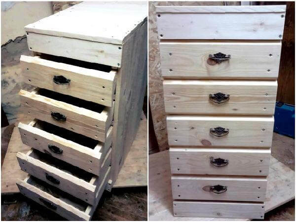 Best ideas about DIY Chest Of Drawers . Save or Pin DIY Pallet Under Bed Drawers with Wheels Now.